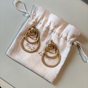 Beautiful vintage hoop For love & Lemons earrings